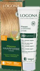 LOGONA Krémová farba na vlasy Medená blond - 150ml