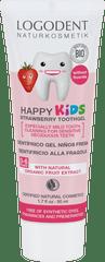 LOGONA HAPPY KIDS zubný gél jahoda - 50ml