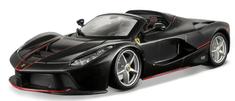 BBurago model Ferrari Laferrari Aperta, 1:24, crna