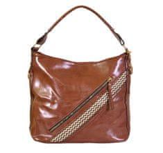 Aaryans Prostorná taška 8196 HNĚDÁ