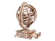 Wooden city Globe vizitkár 3D mechanické puzzle 231 dielov