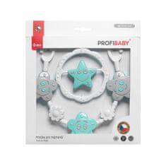 Profibaby Souprava-zábrana a kruh hvězda, kytička v dárkovém balení