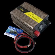 Eurocase Měnič napětí DC/AC REM3000, 12V/230V, 3000W