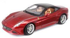 BBurago model Ferrari Signature series California (Closed Top), 1:18, crvena