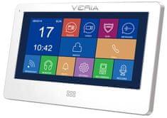 Veria Monitor LCD wideotelefonu 7077B biały