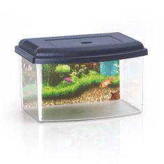 COBBYS PET Akvárium plastové 2 s krytem a pozadím 28x20x17,5cm 5,5l