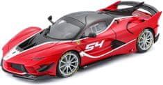BBurago model Ferrari Signature series FXX-K EVO No.54, 1:18, crvena
