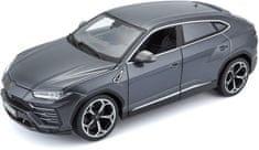 BBurago model Plus Lamborghini Urus, 1:18, siva