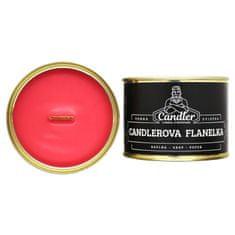 Candler Sójová sviečka Candlerova flanelka, 140 g