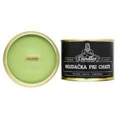 Candler Sójová sviečka Hojdačka pri chate, 140 g