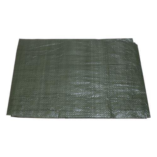 Toptrade plachta krycí , zelená, s kovovými oky, 2 x 10 m, standard
