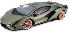 BBurago model TOP Lamborghini Sián fkp 37, 1:18