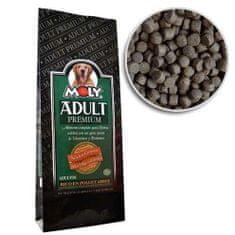 MOLY PREMIUM ADULT 29/15 15kg prémiové krmivo pro dospělé psy