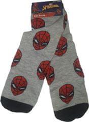 FOOT Chlapecké ponožky s motivem Spiderman šedé