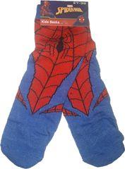 FOOT Chlapecké ponožky s motivem Spiderman modročervené