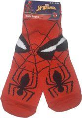 FOOT Chlapecké ponožky s motivem Spiderman červené