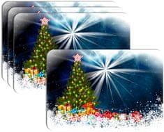 RoomDecor.eu Vianočné prestieranie-129, 4 Ks