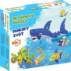 Kids World 3D pěnové puzzle Mořský svět, 1 sada