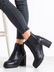Dámske členkové topánky 67919