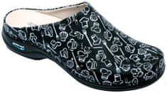 Nursing Care BERLIM pracovní kožená pratelná obuv s certifikací unisex bez pásku kitchen 11 WG4AF28 Nursing Care Velikost: 35