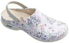 Nursing Care BERLIM pracovní kožená pratelná obuv s certifikací dámská s páskem primavera WG4APF18 Nursing Care Velikost: 35