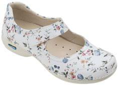 Nursing Care EVORA pracovní kožená pratelná obuv s certifikací dámská květy WG5F1 Nursing Care Velikost: 35