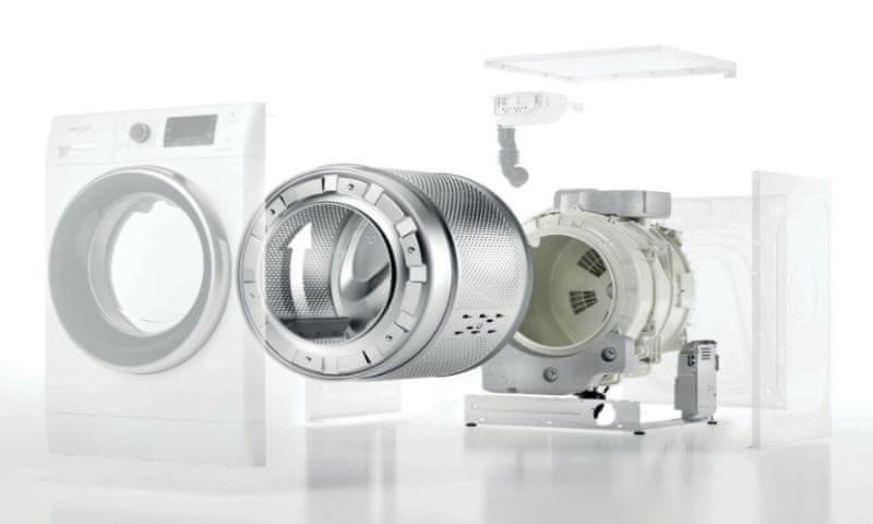 Whirlpool FFL 6238 W EE SenseInverter motor