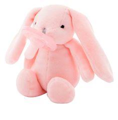 Minikoioi Sleep Buddy dječja duda s plišanom igračkom, ružičasti zec