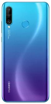 Huawei P30 Lite pametni telefon, 256 GB, moder, HiVision