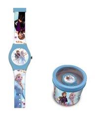 """Dětské analogové hodinky """"Ledové království"""" - modrá"""