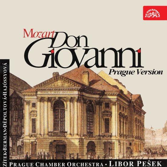 Pražský komorní orchestr, Pešek Libor: Mozart, Don Giovanni (Pražská verze) (2x CD) - CD