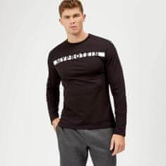 MyProtein pánské sportovní tričko s dlouhým rukávem černé Velikost: S