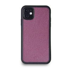 Lemory Kožený kryt PROTECT pro iPhone 11 - fialová