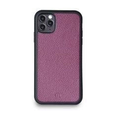 Lemory Kožený kryt PROTECT pro iPhone 11 PRO - fialová