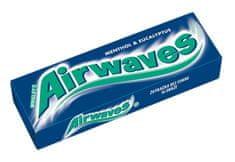 Airwaves žuvačky menthol eucalyptus 14g (bal. 30ks)