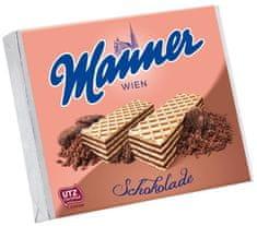 Manner MANNER Oblátky čokoládové 75g (bal. 12ks)