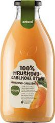 Zdravo šťava 100% hruškovo-jablková 0,750l (bal. 6ks)