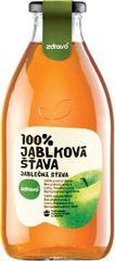 Zdravo šťava 100% jablková 0,750l (bal. 6ks)
