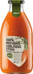 Zdravo šťava 100% mrkvovo-jablková 0,750l (bal. 6ks)