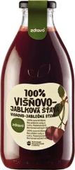 Zdravo šťava 100% višňovo-jablková 0,750l (bal. 6ks)