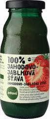 Zdravo šťava 100% jahodovo-jablková 0,200l (bal. 10ks)