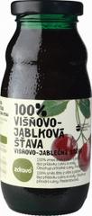 Zdravo ZDRAVO šťava 100% višnovo-jablková 0,200l (bal. 10ks)