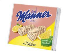 Manner MANNER oblatky citrónové 75g (bal. 12ks)