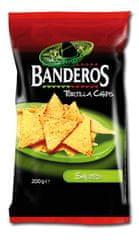 Banderos  tortilla chips solené 200g (bal. 10ks)