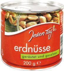 Jeden Tag arašidy solené pražené 200g (bal. 30ks)
