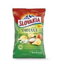 Slovakia Chips chips smotana s cibuľou 100g (bal. 15ks)
