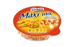 Slovakia Chips Maxi mix zmes slaného trvanlivého pečiva 100g (bal. 20ks)