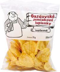 LUPIENKY gazdovské zemiakové solené 75g (bal. 24ks)