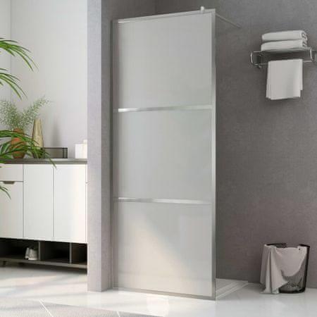 shumee Ścianka prysznicowa, mrożone szkło ESG, 80 x 195 cm