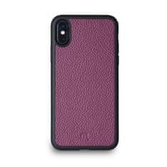 Lemory Kožený kryt PROTECT pro iPhone X/XS - fialová